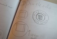Images of third idea in copybook